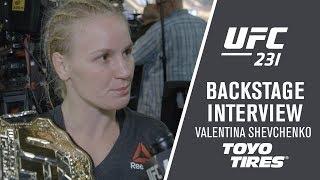 """UFC 231: Valentina Shevchenko - """"I"""