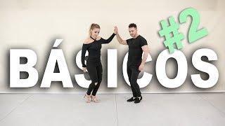 Pasos básicos de BACHATA #2 | Cómo bailar bachata en pareja | Aprende a bailar con Alfonso y Mónica