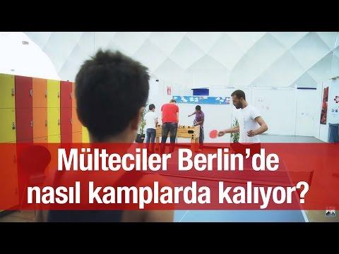 Mülteciler Berlin'de nasıl kamplarda kalıyor?