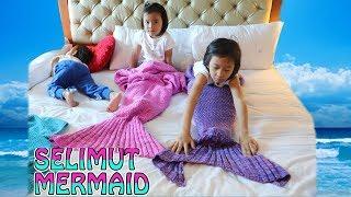 Lifia Niala Buka Paket Selimut Mermaid - Blanket mermaid
