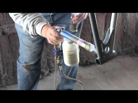 Powder Coating Process 1981 Kuwahara KZ-1 Old School BMX