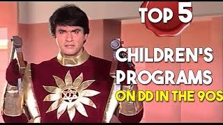 Top 5 - Doordarshan Kids shows in the 90