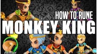 SUMMONERS WAR : How to Rune MONKEY KING (Xing Zhe, Mei Hou Wang, Shi Hou, etc)