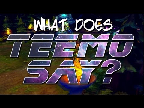 Instalok - What Does Teemo Say? Feat. ROBERTxLEE (Ylvis - The Fox PARODY)