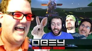 BOB THE BUNNY SLAYER | Obey Gameplay Part 1