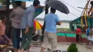 ঘূর্ণিঝড় রোয়ানো Cyclone Roanu hits in Chittagong,Bangladesh