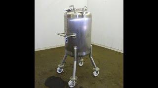 Used- Feldmeier Pressure Tank, 200 Liter - stock # 48274002