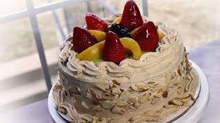 How To Make Fresh Fruits Cream Cake