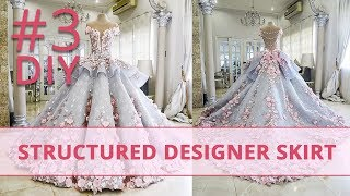 How to Make Structured Designer Skirt? #3 Corset Academy Courses