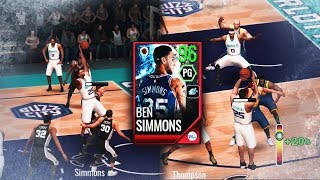 96 OVR MASTER BEN SIMMONS IS UNSTOPPABLE IN NBA LIVE MOBILE!