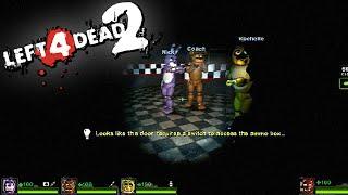 Left 4 Dead 2: FIVE NIGHTS AT FREDDY'S Custom Map (Gameplay en Español) (#1)