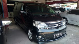 In Depth Tour Toyota Alphard 2.4 ASG ANH10 (2006) - Indonesia