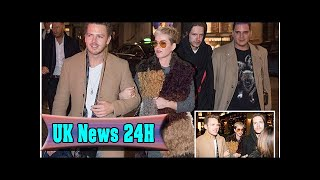 Katy perry gets close to a mystery man on a night out in denmark| UK News 24H