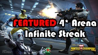 FEATURED 4 Star Arena Infinite Streak Guide | Marvel Contest of Champions