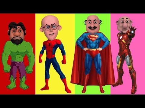 Xxx Mp4 MOTU PATLU Wrong Heads With Spiderman In Hindi Superman Hulk Iron Man Motu Patlu Cartoon In Hindi 3gp Sex