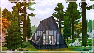 Triangle Skylight | The Sims 4 speed build