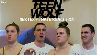 TEEN WOLF SERIES FINALE REACTION // 620 'The Wolves of War' w/ My Sister