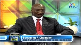 David Waweru  - Author of the Book Champion (Interviewed on NTV 22nd Oct 2013)