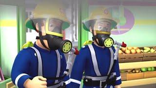 Brandmand Sam Dansk 🔥Brand i butikken 🔥Tegneserie til Børn