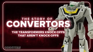 Convertors: The Transformers Knock-Offs That Weren't | Oddities #9