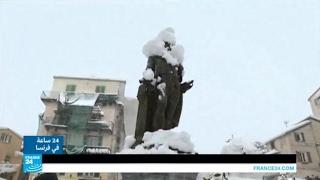 ما تأثير موجة البرد التي تضرب فرنسا على المواطنين؟