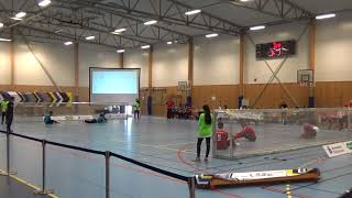 2018 Goalball World Championships Belgium v Turkey 2nd Half