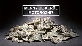 Mennyibe kerül motorozni?