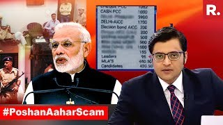 Rahul Gandhi Runs Away From #PoshanAaharScam Question | The Debate With Arnab Goswami