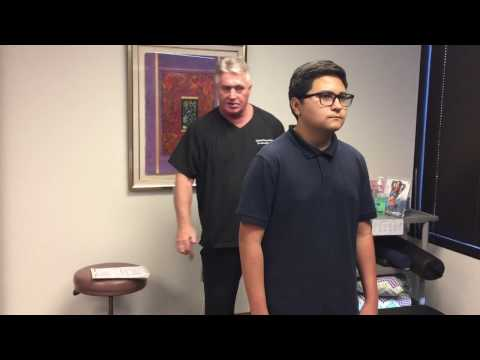 14 Year Old Boy Suffering From Lower Back Pain Finds Relief At Advanced Chiropractic Relief.