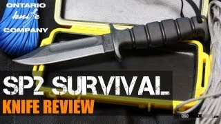 Ontario SP2 Spec Plus Air Force Survival Knife Review | OsoGrandeKnives