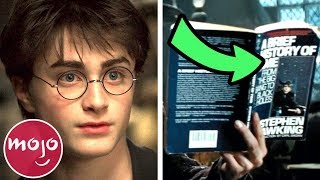 Top 10 Harry Potter Easter Eggs You Missed