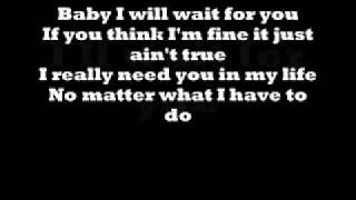 Elliott Yamin - Wait For You - Lyrics