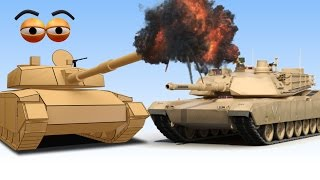 CUBE BUILDER for KIDS (HD) - Build an Army Tank for Children - AApV