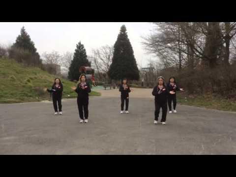 Gemu Fa Mi Re Line Dance  by Tina Chen 朝陽排舞 巴黎 93