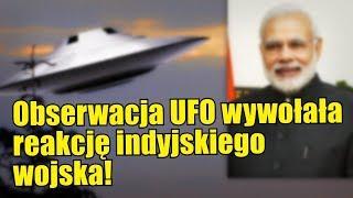Obiekt UFO został zaobserwowany nad rezydencją premiera Indii!