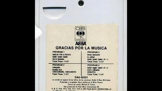 Abba - Gracias Por La Música – 8 track stereo tape cartridge – 1980