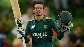Quinton De Kock 178 Runs in 142 Balls Against Australia, South Africa v Australia, 1st ODI, Centurio