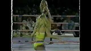 "G.L.O.W. ""Tulsa vs. Hollywood"" 1993 PPV United States Championship Match"