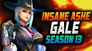 INSANE Carry Ashe by - Gale! QP [ OVERWATCH SEASON 13 TOP 500 ]