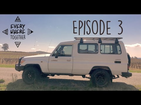 Ep. 3 Buying Our Troopy and Starting The Conversion - Everywhere Together