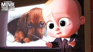 The Boss Baby | All NEW trailer for the upcoming animated comedy