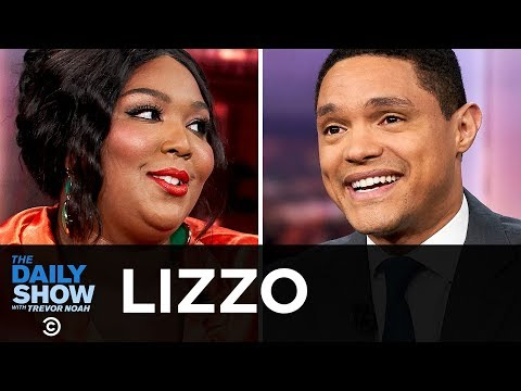"""Lizzo Taking Her Fans to Church with a Twerk & """"Cuz I Love You"""" The Daily Show"""