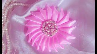 Download Easy ribbon flower DIY/TUTORIAL 3Gp Mp4