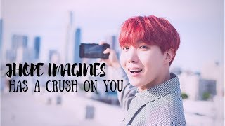 |BTS imagines| Jhope has a Crush on you