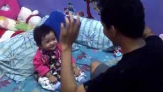 VIDEO LUCU KEYLA - Bayi 9 BULAN JOGET BANG OCID