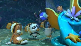 ★NEW★潜水艦が壊れて動かないよ!| 赤ちゃんが喜ぶアニメ | 動画 | BabyBus