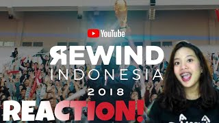 REACTION : YOUTUBE REWIND INDONESIA 2018 - RISE!!