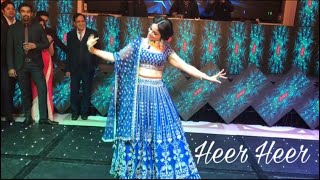 Heer Heer| Jab Tak Hai Jaan| Wedding Choreography| bride dance performance| Bolly Garage