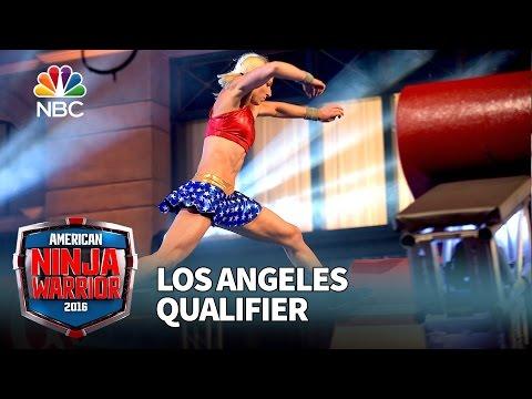 Jessie Graff at the Los Angeles Qualifier American Ninja Warrior 2016