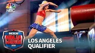 Jessie Graff at the Los Angeles Qualifier - American Ninja Warrior 2016